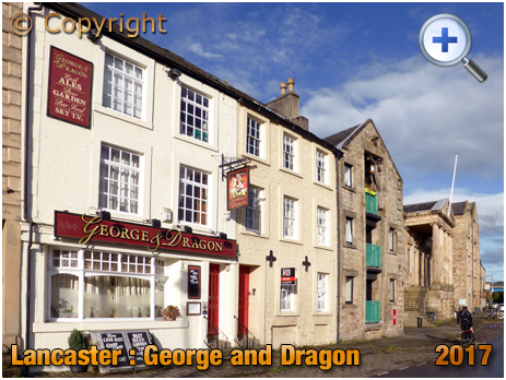 Lancaster : George and Dragon on St. George's Quay [2017]