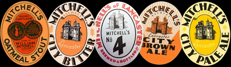 Beer Labels by Mitchell's of Lancaster