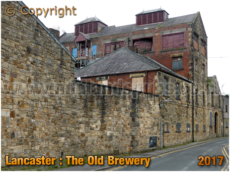 Lancaster : The Old Brewery in Brewery Lane [2017]