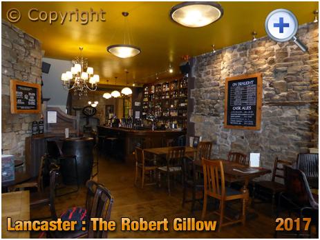 Lancaster : Interior of The Robert Gillow [2017]
