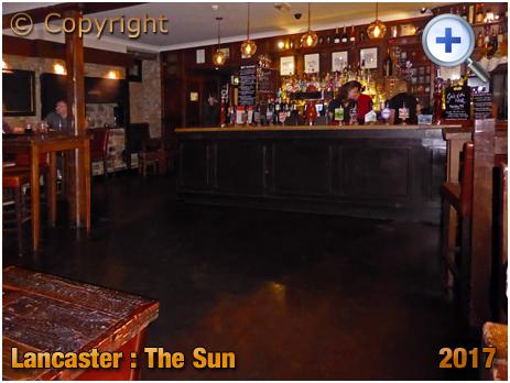 Lancaster : Interior of The Sun in Church Street [2017]