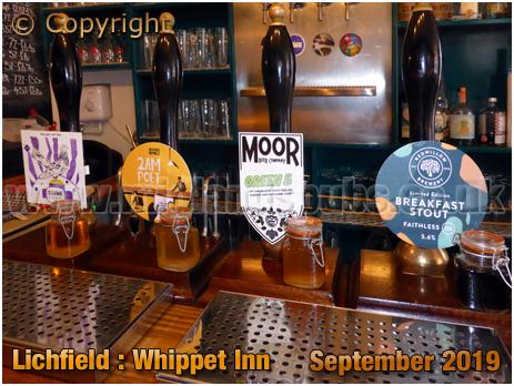Lichfield : Beers at the Whippet Inn [September 2019]