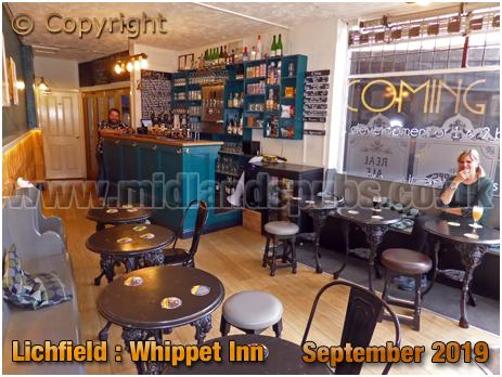 Lichfield : Interior of the Whippet Inn [September 2019]