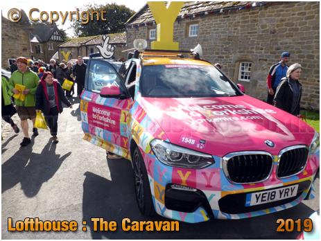 Lofthouse : Caravan for the UCI World Championships Women's Elite Road Race [September 2019]