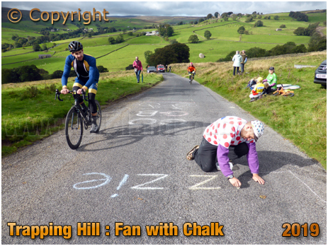 Lofthouse : Trapping Hill Cycling Fan at the UCI World Championships Women's Elite Road Race [September 2019]