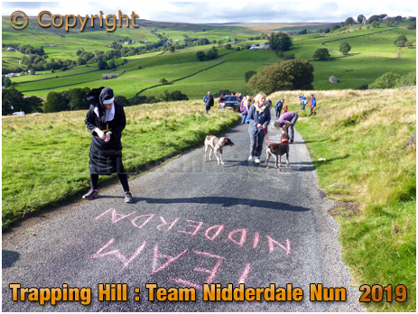 Lofthouse : Trapping Hill Team Nidderdale Nun at the UCI World Championships Women's Elite Road Race [September 2019]
