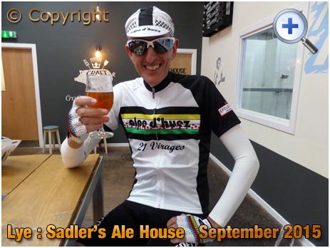 Lye : Raising a Glass at Sadler's Ale House [2015]