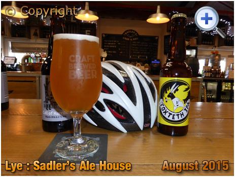 Lye : Craft Beers at Sadler's Ale House [2015]