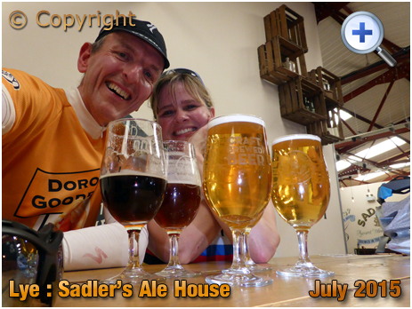 Lye : Sampling a variety of beers in Sadler's Ale House [2015]