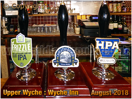 Malvern : Real Ales at the Wyche Inn [2018]