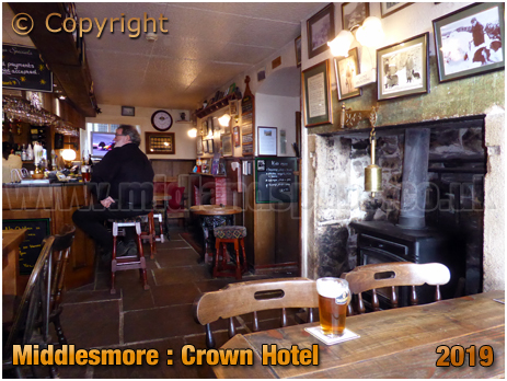Middlesmore : Bar of the Crown Hotel [September 2019]