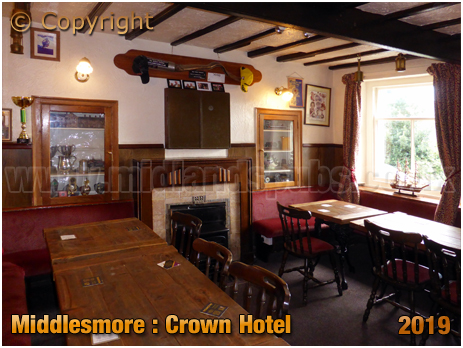 Middlesmore : Parlour of the Crown Hotel [September 2019]