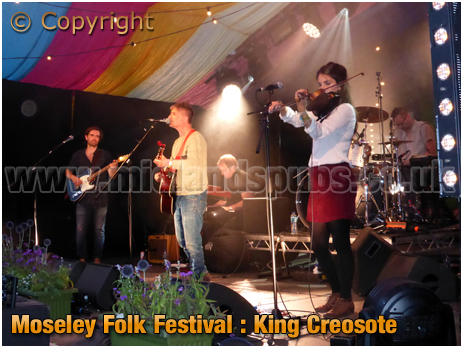 Moseley Folk Festival : King Creosote [2018]