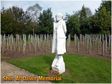 National Memorial Arboretum : Shot At Dawn Memorial [September 2019]
