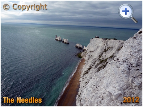 Isle of Wight : The Needles and Scratchell's Bay [2012]