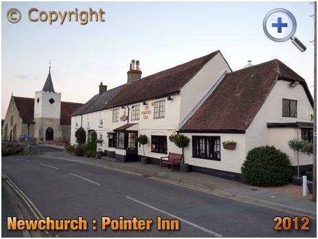 Newchurch : Pointer Inn and All Saints' Church [2012]