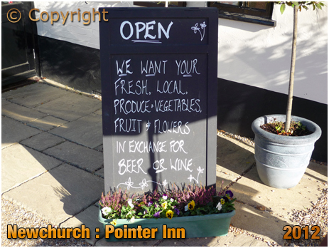 Newchurch : Produce for Beer at the Pointer Inn [2012]