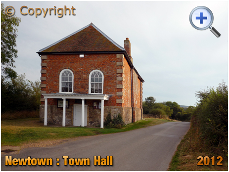 Isle of Wight : The Town Hall at Newtown [2012]