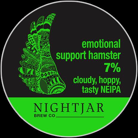 Nightjar Brew Co. : Emotional Support Hamster