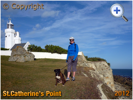 Isle of Wight : The Lighthouse at Saint Catherine's Point near Niton [2012]