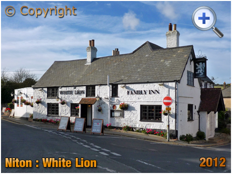 Isle of Wight : The White Lion at Niton [2012]