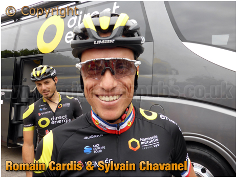 Nuneaton : Sylvain Chavanel at the Tour of Britain [2018]