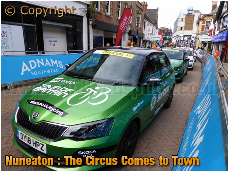 Nuneaton : Tour of Britain Circus Comes To Town [2018]