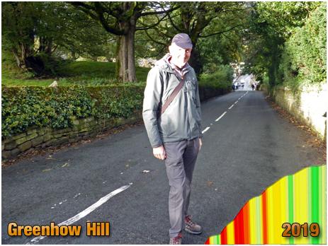 Pateley Bridge : Greenhow Hill before the Men's Under-23 Road Race [September 2019]