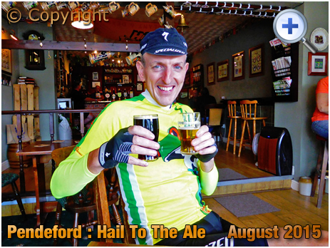 Pendeford : A Couple of beers at Hail To The Ale [2015]