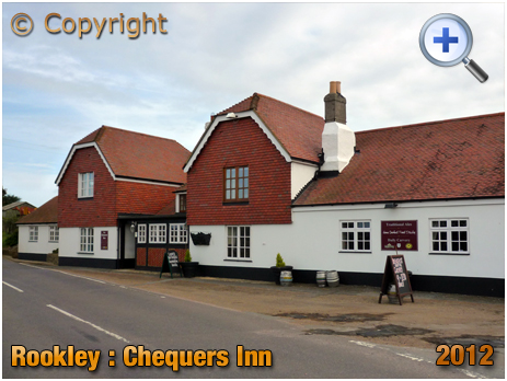 Isle of Wight : The Chequers Inn at Rookley [2012]