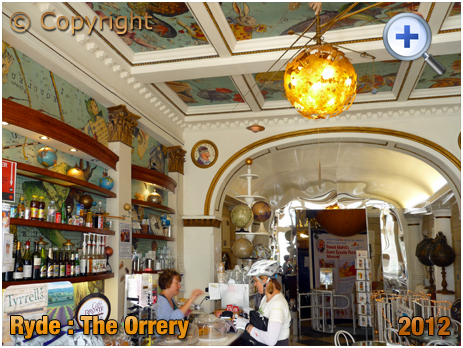 Isle of Wight : The Orrery in Union Street at Ryde [2012]