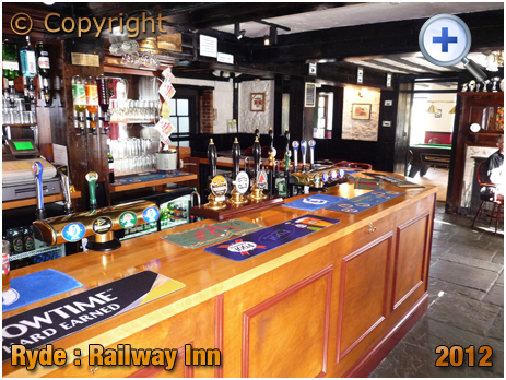 Isle of Wight : The Railway Inn at Ryde [2012]