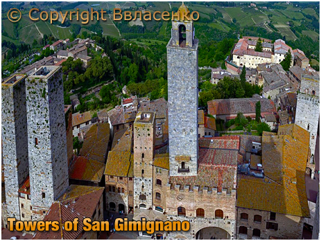 San Gimignano : Towers [2018]