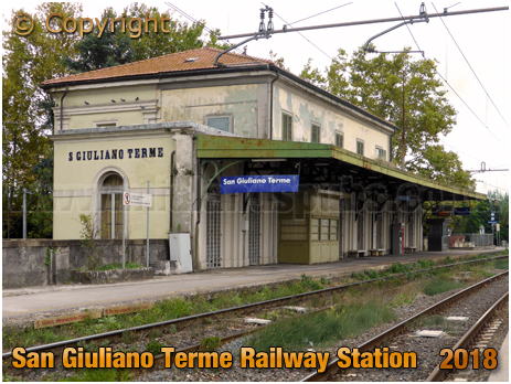 San Giuliano Terme Railway Station [2018]