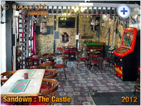 Isle of Wight : Interior of The Castle at Sandown [2012]