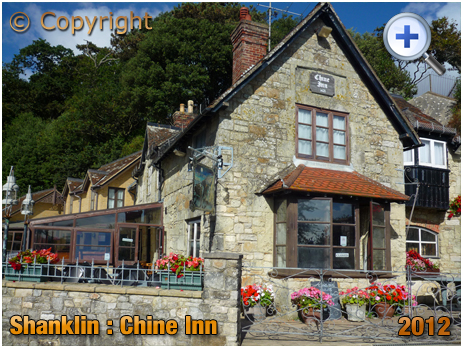 Isle of Wight : Chine Inn at Shanklin [2012]