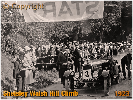 Shelsley Walsh Hill Climb [1923] Courtesy of Midland Automobile Club