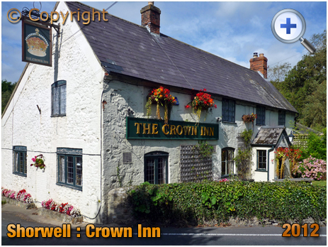 Isle of Wight : The Crown Inn at Shorwell [2012]