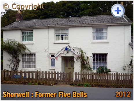 Isle of Wight : Former Five Bells at Shorwell [2012]
