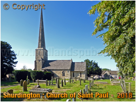 Shurdington : Church of Saint Paul [2018]