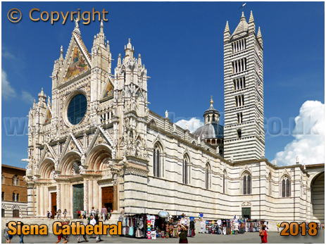 Siena : Cathedral Church of Santa Maria Assunta [2018]
