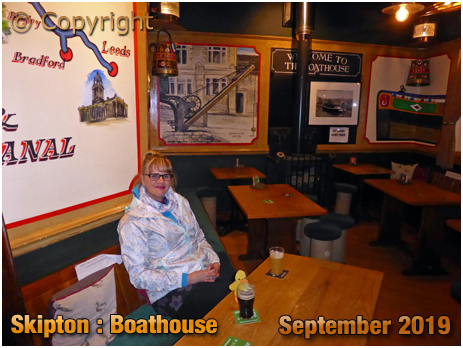 Skipton : Boathouse [September 2019]
