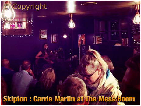 Skipton : Carrie Martin at The Mess Room [September 2019]