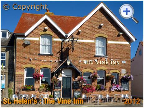 Isle of Wight : The Vine Inn at St. Helen's [2012]
