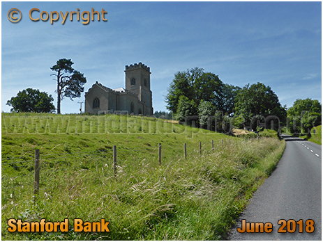 Stanford-on-Teme : St. Mary's Church and Stanford Bank [2018]