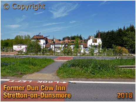 Stretton-on-Dunsmore : Former Dun Cow Inn [2018]