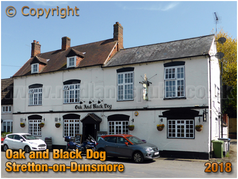 Stretton-on-Dunsmore : Oak and Black Dog [2018]