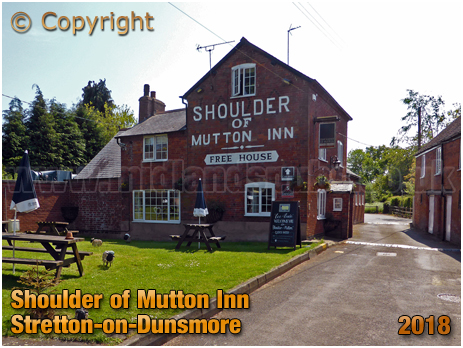 Stretton-on-Dunsmore : Shoulder of Mutton Inn [2018]