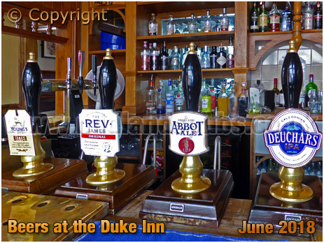 Real Ales at the Duke Inn at Maney in Sutton Coldfield [2018]