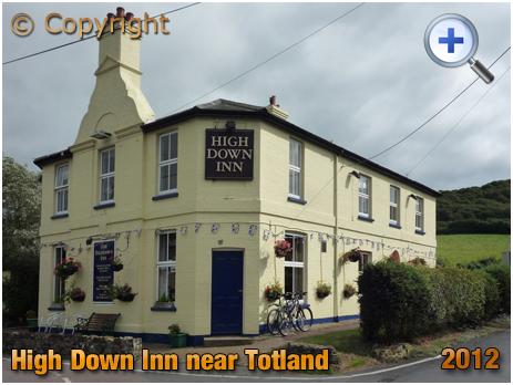 Isle of Wight : High Down Inn near Totland [2012]